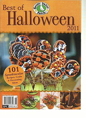 BEST OF HALLOWEEN, 2011 (101 SPOOKTACULAR RECIPES, CRAFTS, DECORATING IDEAS