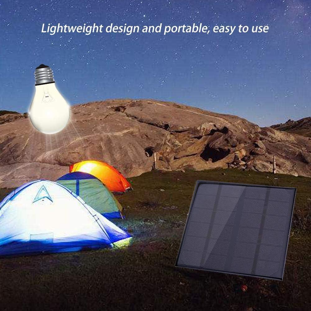 Salida CC 3W 6V M/ódulo de Panel Solar de silicio monocristalino Bater/ía L/ámpara Cargador Fuente de alimentaci/ón Outbit Panel Solar