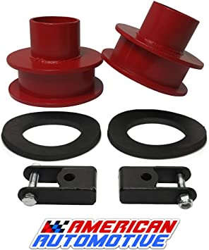 """2/"""" Complete Red Front Leveling Lift Kit for 2011-2020 Ford F250 F350 Super Duty"""