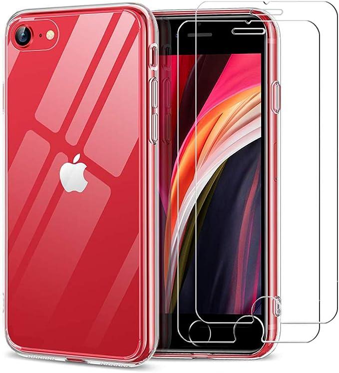 Kratzfest 9H geh/ärtes Glas Conber Panzerglasfolie f/ür iPhone SE 2020 // iPhone SE 2nd Generation, 3 St/ück H/ülle Freundllich Panzerglas Schutzfolie f/ür iPhone SE 2020 // iPhone SE 2nd Generation