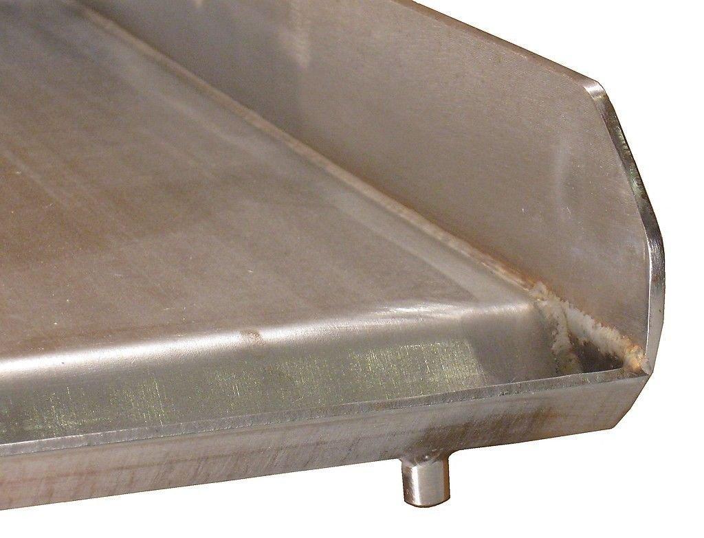 Amazon.com: Parrilla plana de acero inoxidable para hacer ...