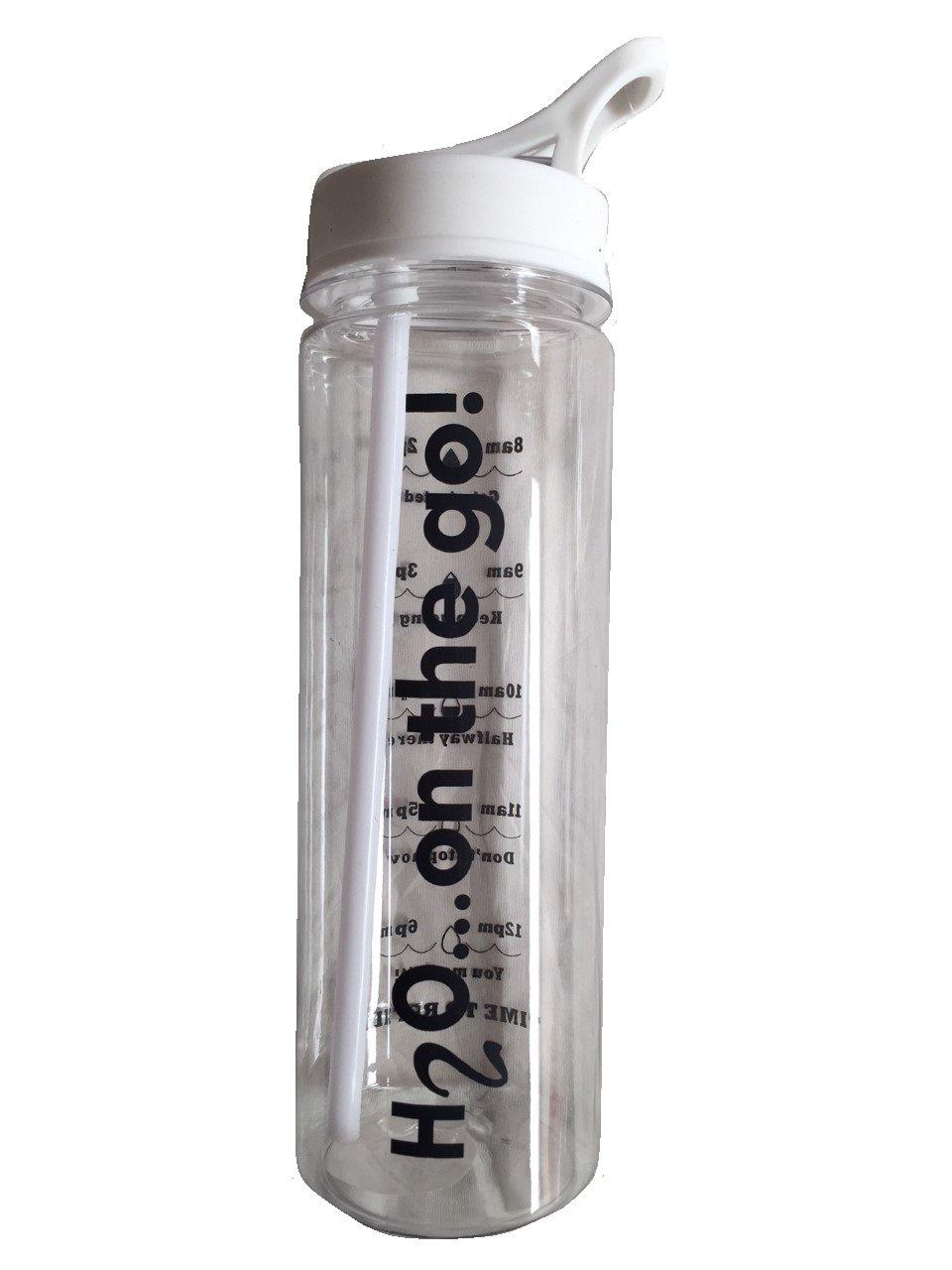 8 x SPORTS WATER DRINK BOTTLES 700ml capacity BLACK