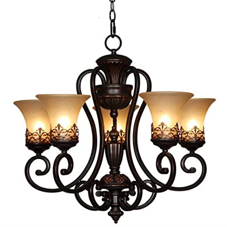 Y&L Island Candle Style Chandelier With 5 Lights Painting Metal Chandeliers  / Flush Mount Living Room - Y&L Island Candle Style Chandelier With 5 Lights Painting Metal