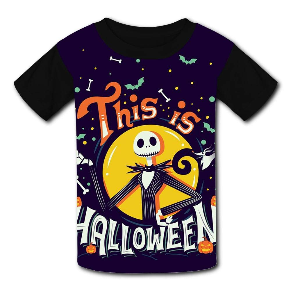 {Size/_Name} UANKO The-Nightmare-Before-Christmas Childrens Summer Short Sleeve Printing T-Shirts