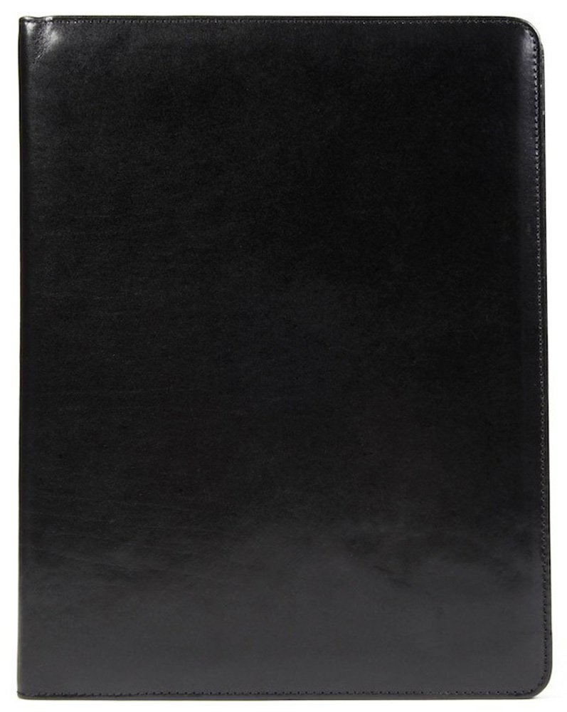 Bosca Men's 8 1/2'' X 11'' Writing Pad Cover, Black, One Size by Bosca (Image #4)