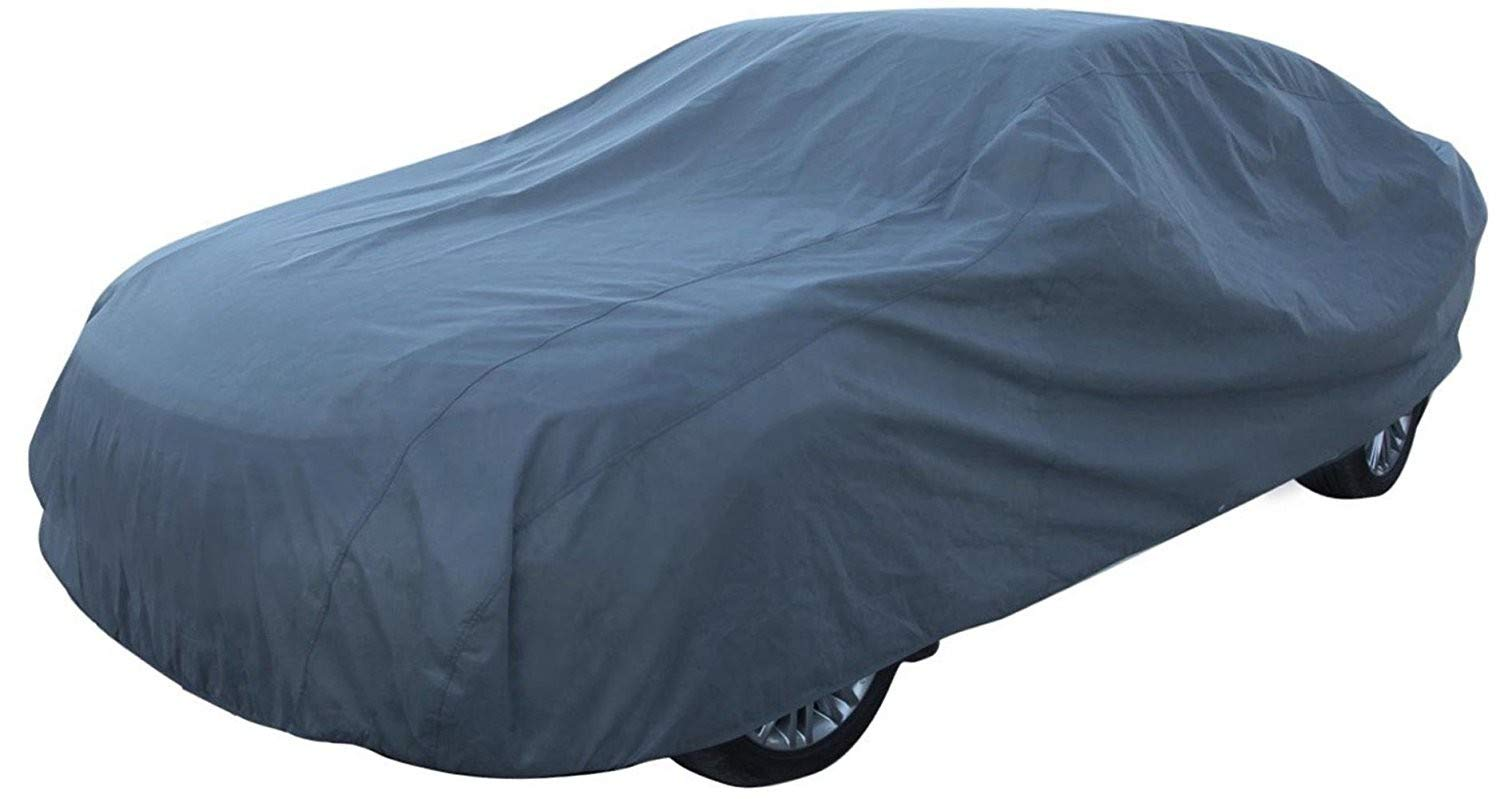Complete Garage Grey Car Cover Car Cover XL Winter Summer 540X175X120  cm DWT-Germany