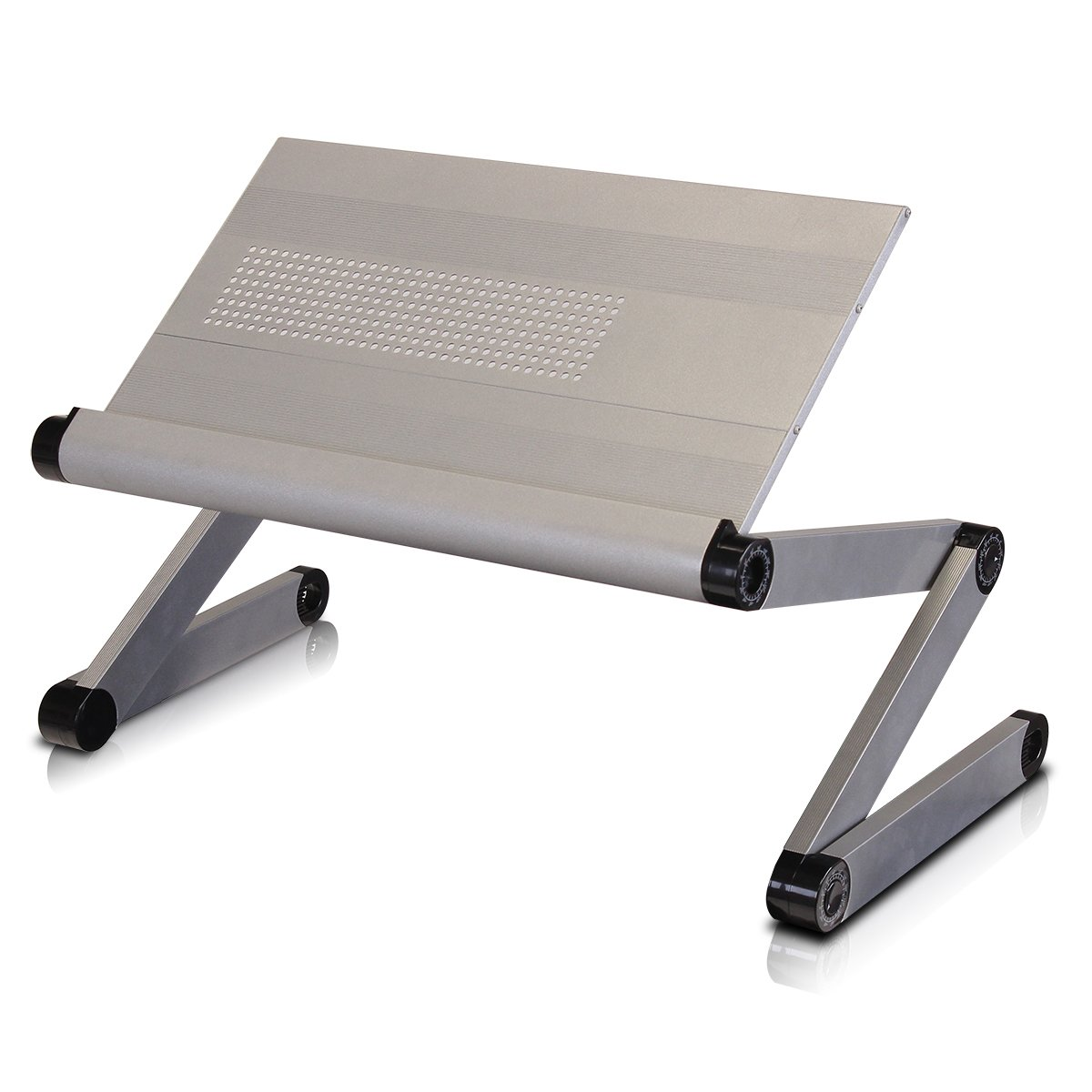 Amazon.com: Furinno K6-SV Premium Aluminum 360 Adjustable Portable Folding Lapdesk: Home & Kitchen