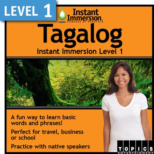 Instant Immersion Level 1 - Tagalog [Download] by Topics Entertainment