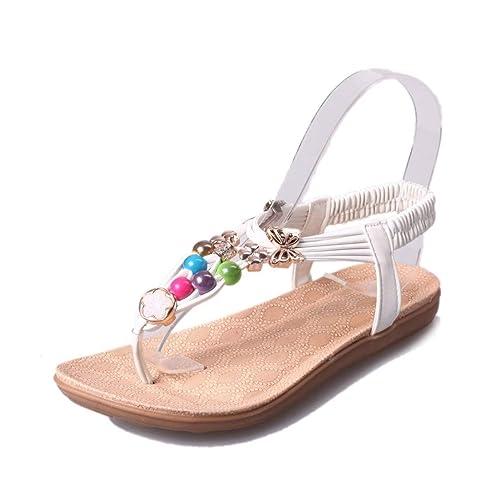 Sandali da Donna Scarpe Infradito Scarpe da Spiaggia Sandali da Donna  Scarpe da Gladiatore  Amazon.it  Scarpe e borse 4c3c5b7bb3e