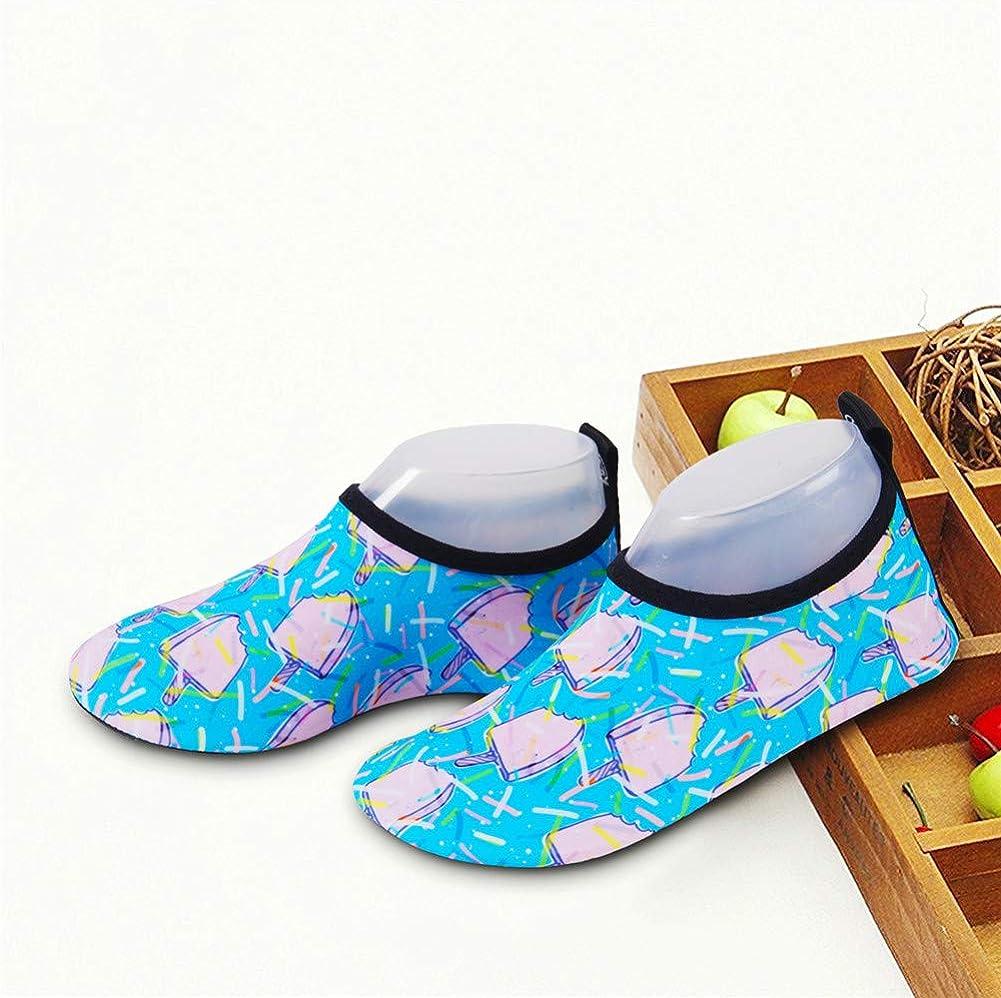 HMIYA Kinder Badeschuhe Wasserschuhe Strandschuhe Schwimmschuhe Aquaschuhe Surfschuhe Barfuss Schuh f/ür Jungen M/ädchen Kleinkind Beach Pool