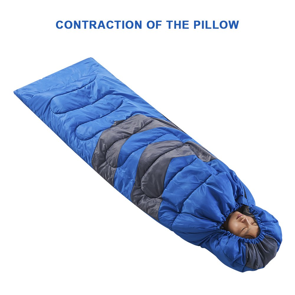 Gorich Clima extremo Saco de dormir para los adultos, niños y niñas, adolescentes - protección contra el frío - Para cualquier persona hasta 6,1 - Ideal ...