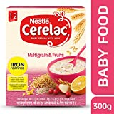 Nestle Cerelac Infant Cereal with Milk - Multi Grain 5 fruits (300 g)