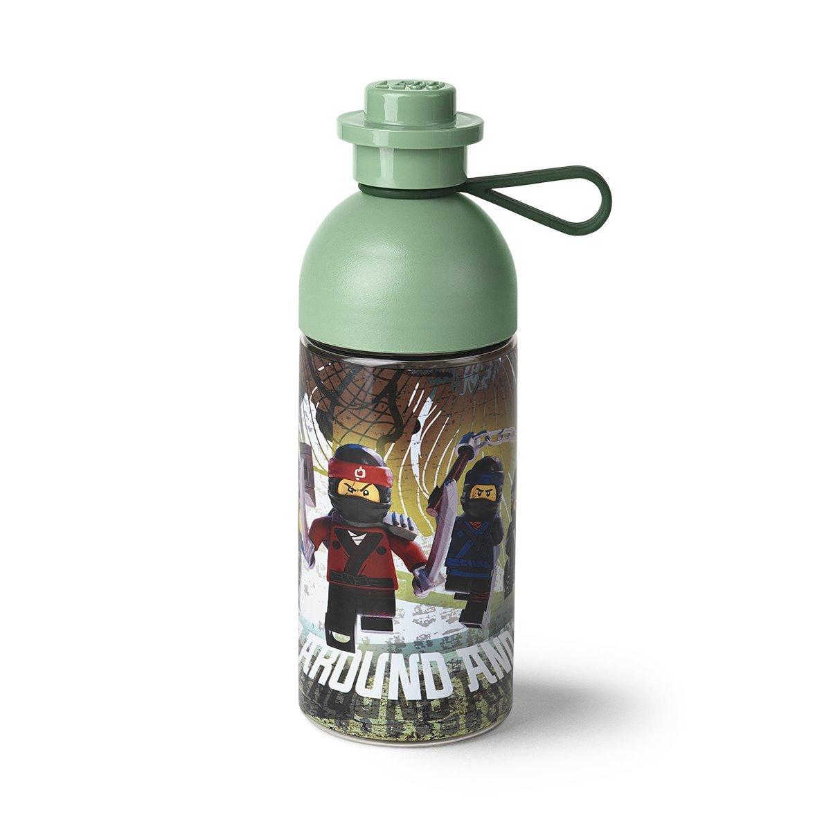 LEGO 40421741 Water Bottle Ninjago Movie Hydration, Olive Green