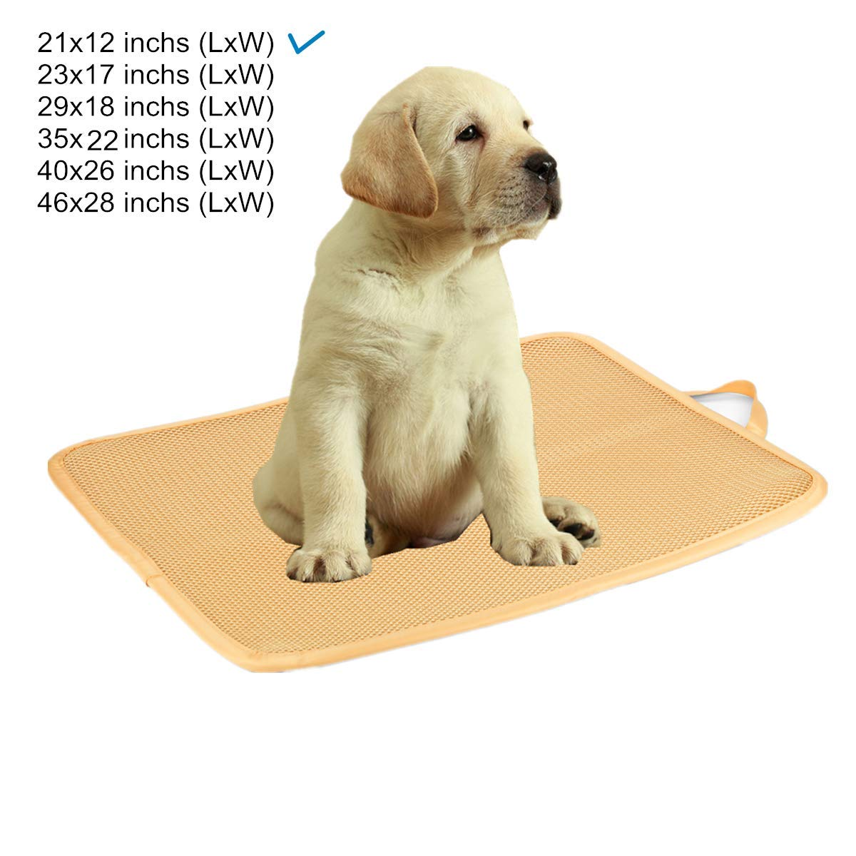 Kimi Homes Kennel Pad - Easy Cleaning Kennel Bed, Quick Drying Kennel Mat with Mesh Technology, Perfect Four Season Functions for Dogs, Cats and More