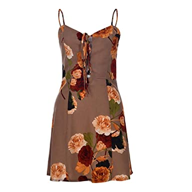 Amazon.com: OPTIMIS Womens Summer Fashion Vacation Floral ...