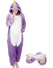 Pigiama o Costume di Carnevale Halloween Pigiama Cosplay Party OnePiece Intero Animali Regalo di Compleanno per Adulti Adolescenziale Ragazzi