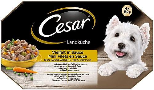 Cesar-Hundefutter-Nassfutter-Landküche