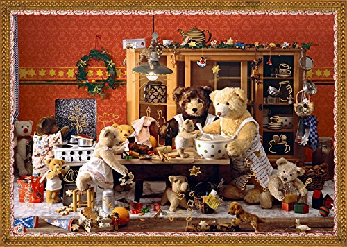 Coppenrath 'Teddy Bears' Kitchen' Traditional Advent Calendar
