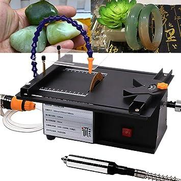 SEAAN Máquina de tallado de jade multifunción Molino de mesa ...