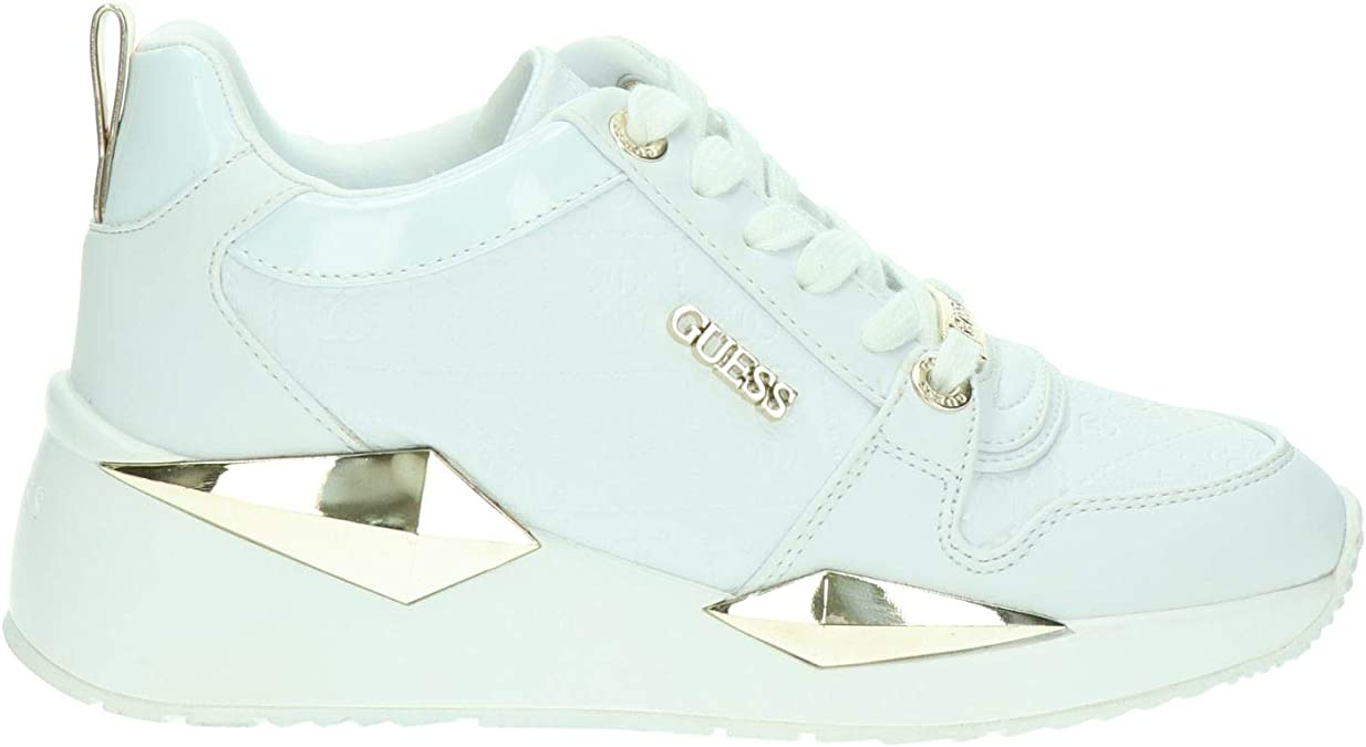 Scarpe Donna Guess Sneaker Running Tallyn in Ecopelle Colore BrownBlack DS20GU21