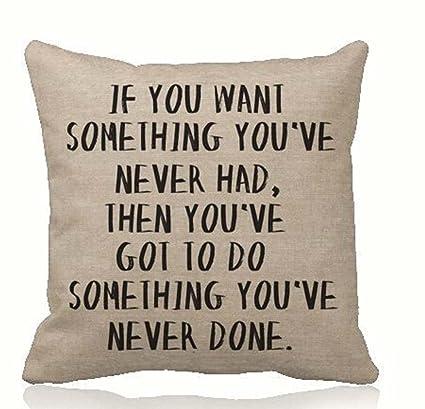 Si Quieres Algo Que Nunca Has Tenido, acaba de llegar a ...