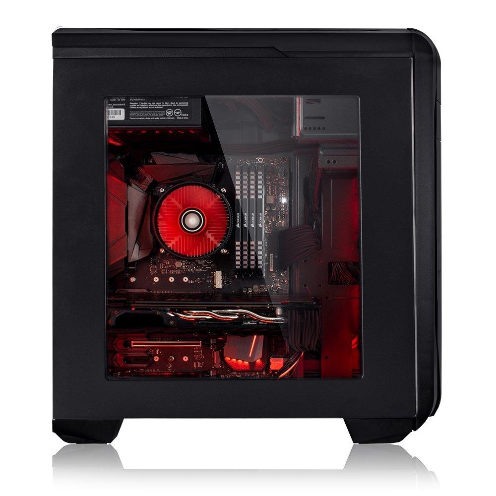 AMD FX-6300 6x4 1GHz CPU GTX 1050 2Go 1To HDD Fierce EXILE PC Gamer de