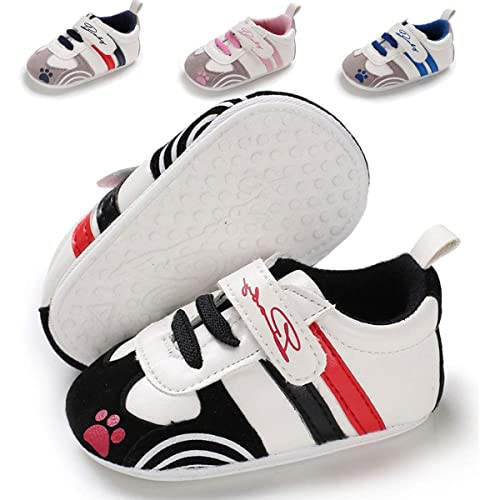 588d2d5d68127 Infant Baby Boys Girls Shoes Leather Sneakers Soft Sole Anti-Slip Toddler  First Walker Newborn Crib Shoes