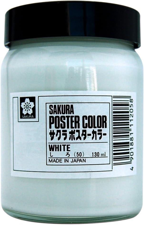 PW130ML # 50 Sakura Color quality assurance white poster japan San Francisco Mall import color 130ml