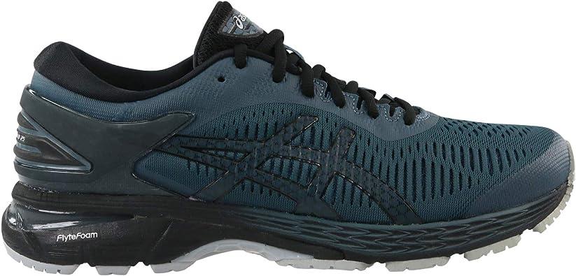 Asics Gel-Kayano 25 - Zapatillas de Running para Hombre, Color Verde Oscuro, Color Verde, Talla 46.5 EU: Amazon.es: Zapatos y complementos