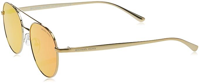 Michael Kors LON, Gafas de Sol Unisex-Adulto, Gold/Tone 11686Q, 53: Amazon.es: Ropa y accesorios