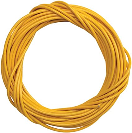 BICYCLE BIKE LINED BRAKE CABLE HOUSING 50 FOOT ROLL YEL