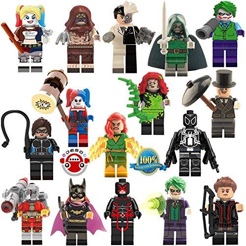 Price comparison product image DESO® LEGO-compatible 16pcs / Set High Quality figures minifigures party favor supply children's gift
