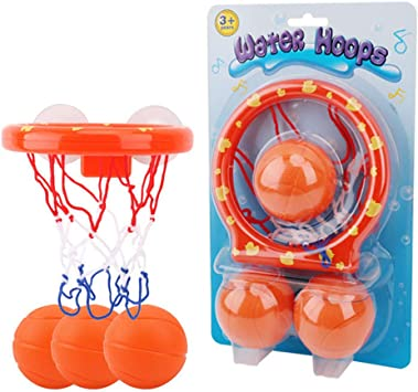 Cyfie Mini Cesta Baloncesto Infantil de Plástico con 3 Pelotas ...