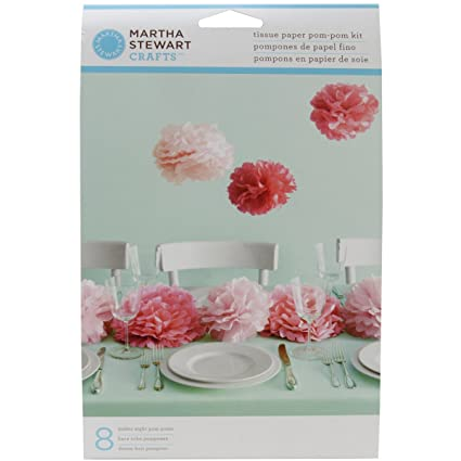 Amazon martha stewart crafts pom poms pink medium arts martha stewart crafts pom poms pink medium mightylinksfo