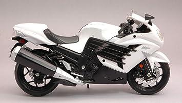 Maisto MI12028W Kawasaki Ninja ZX-14R White 1:12 ...