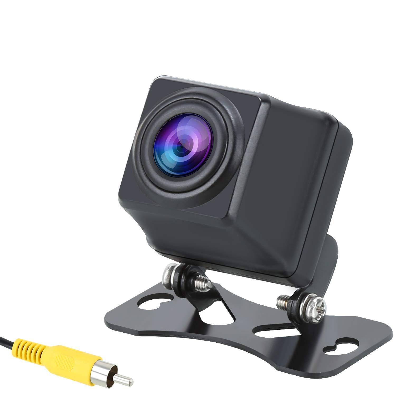 PUMPKIN SA017 Auto Rückfahrkamera Einparkhilfe 720P Kamara mit 170° Winkel Nachtsicht IP69 Wasserdichtkeit Rückfahrsystem Für die meisten Autos