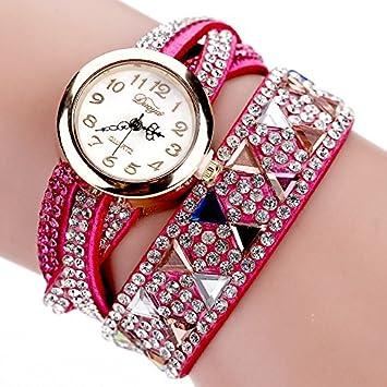 sygyn (TM) duoya marca reloj las mujeres populares para vestido de lujo Pulsera Reloj