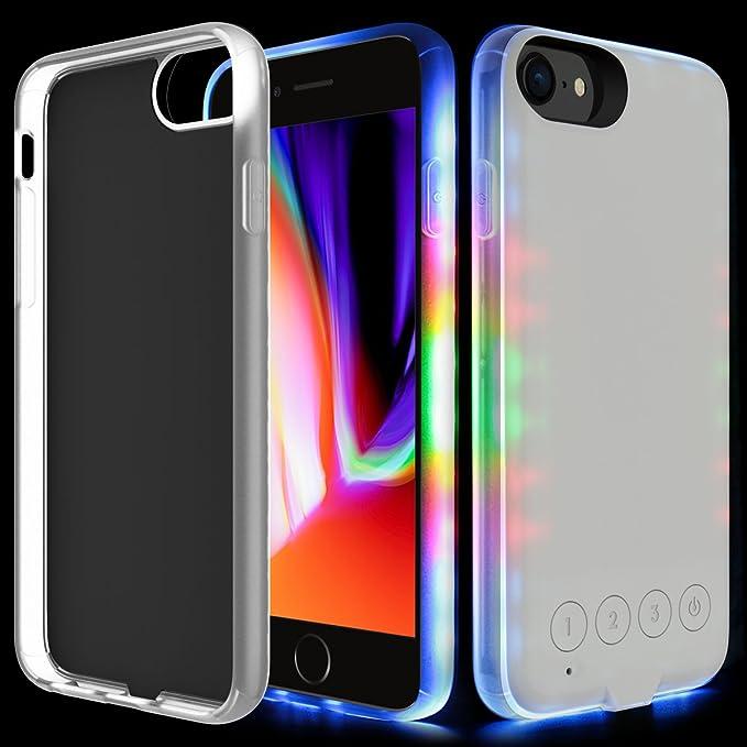 custodia di iphone 8 plus con luce led