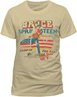 Bruce Springsteen Men's Tour Short Sleeve T-Shirt