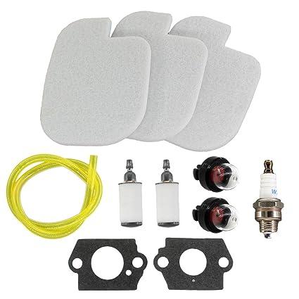 Amazon.com: uspeeda mantenimiento Kit de Tuning para Poulan ...