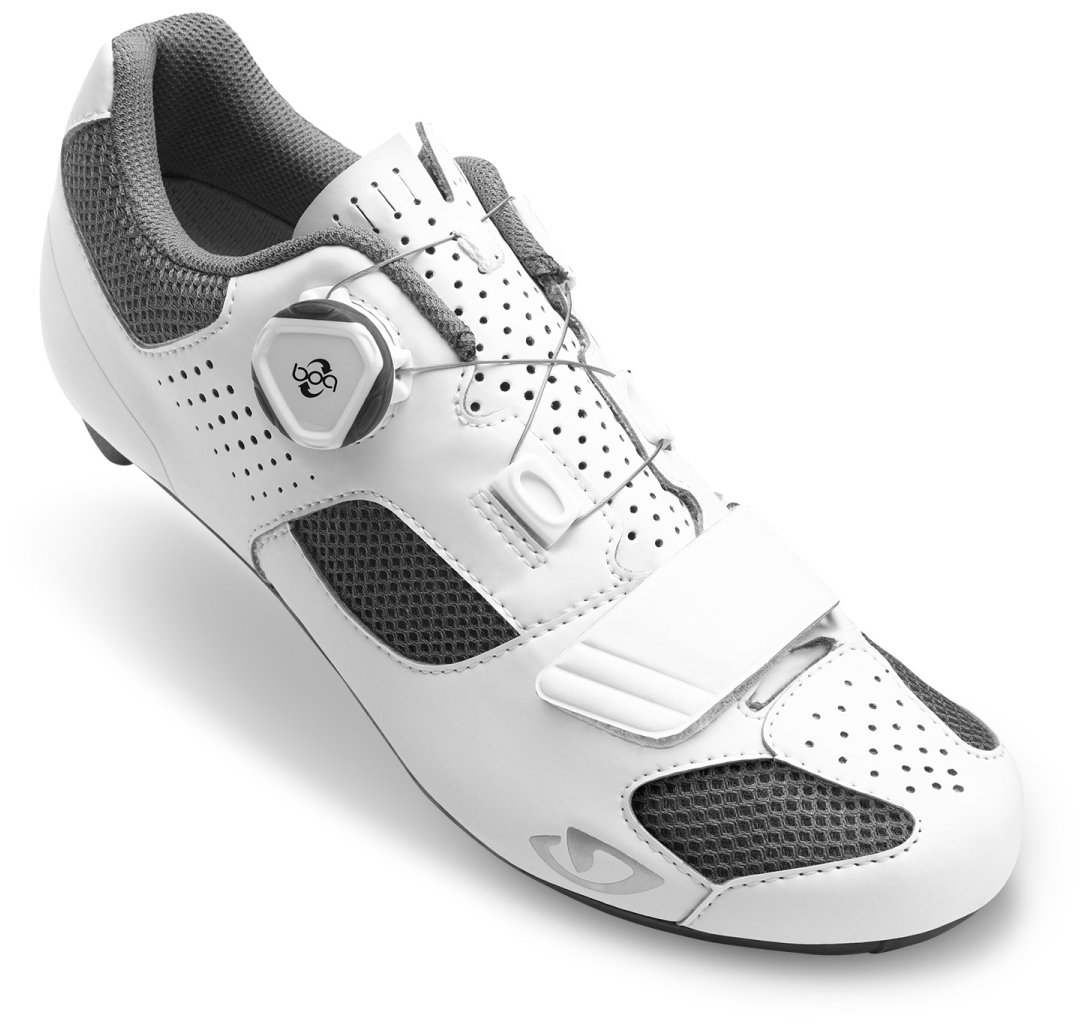 Giro Espada Boa Cycling Shoes - Women's White/Silver 37 by Giro