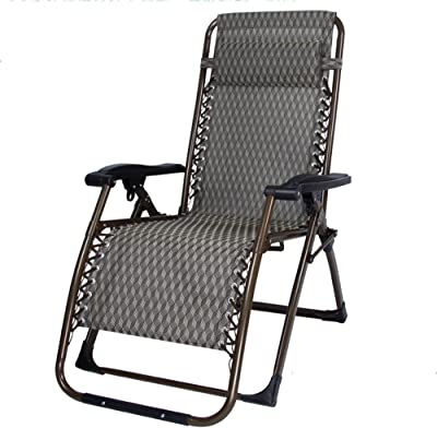 Lounge Chairs ZHIRONG Folding Casual Sun Loungers Garden Chair Summer Beach Chair Siesta Chair Portable Outdoor Chair Armchair