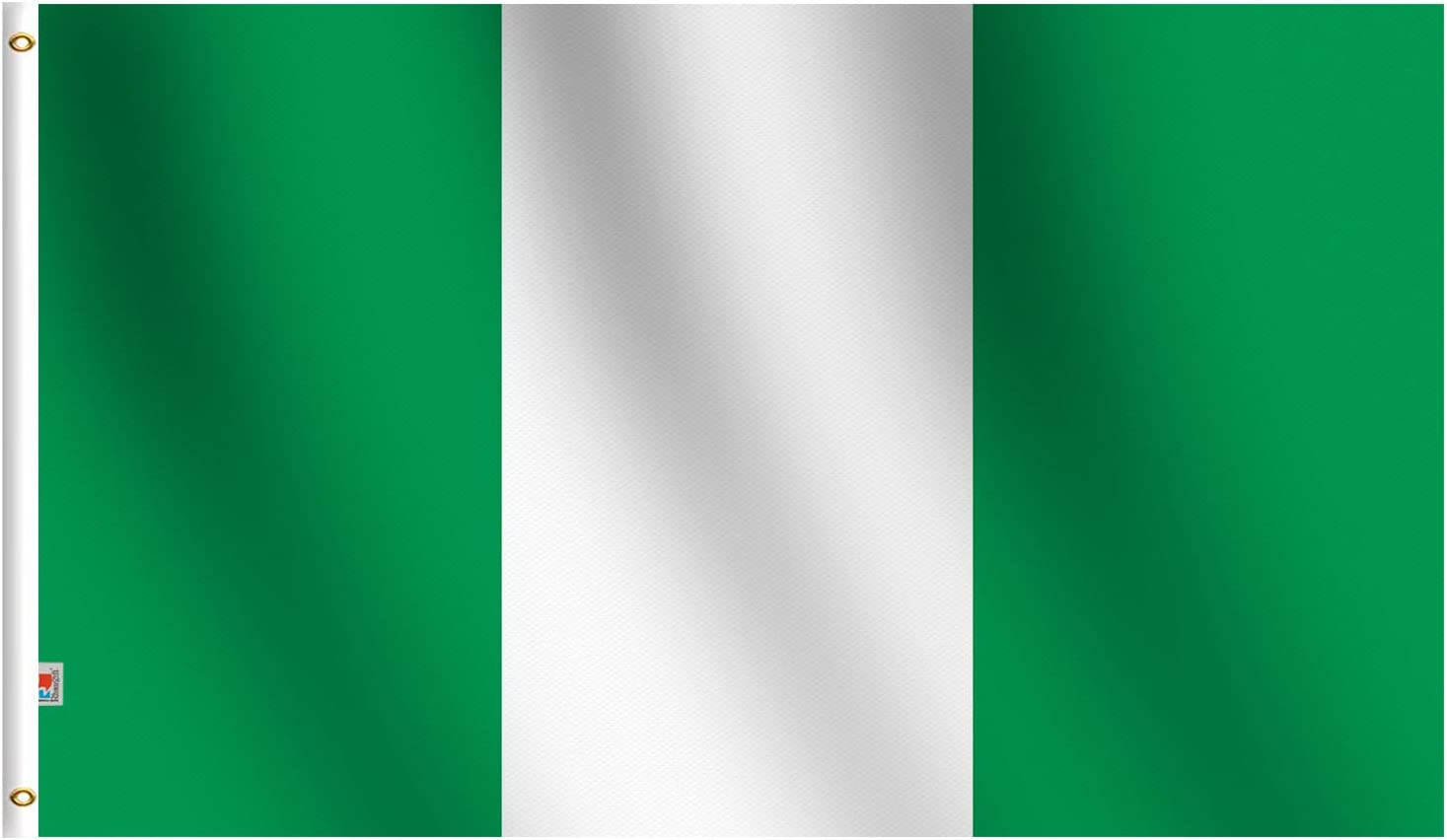 Nigeria 2x3ft Flag of Nigeria Nigerian Flag 2/' x 3/' Country Banner
