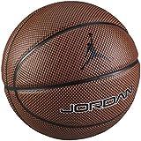 Jordan JORDAN LEGACY unisex-adult basketballs BB0472-824 - ORANGE/DARK BROWN