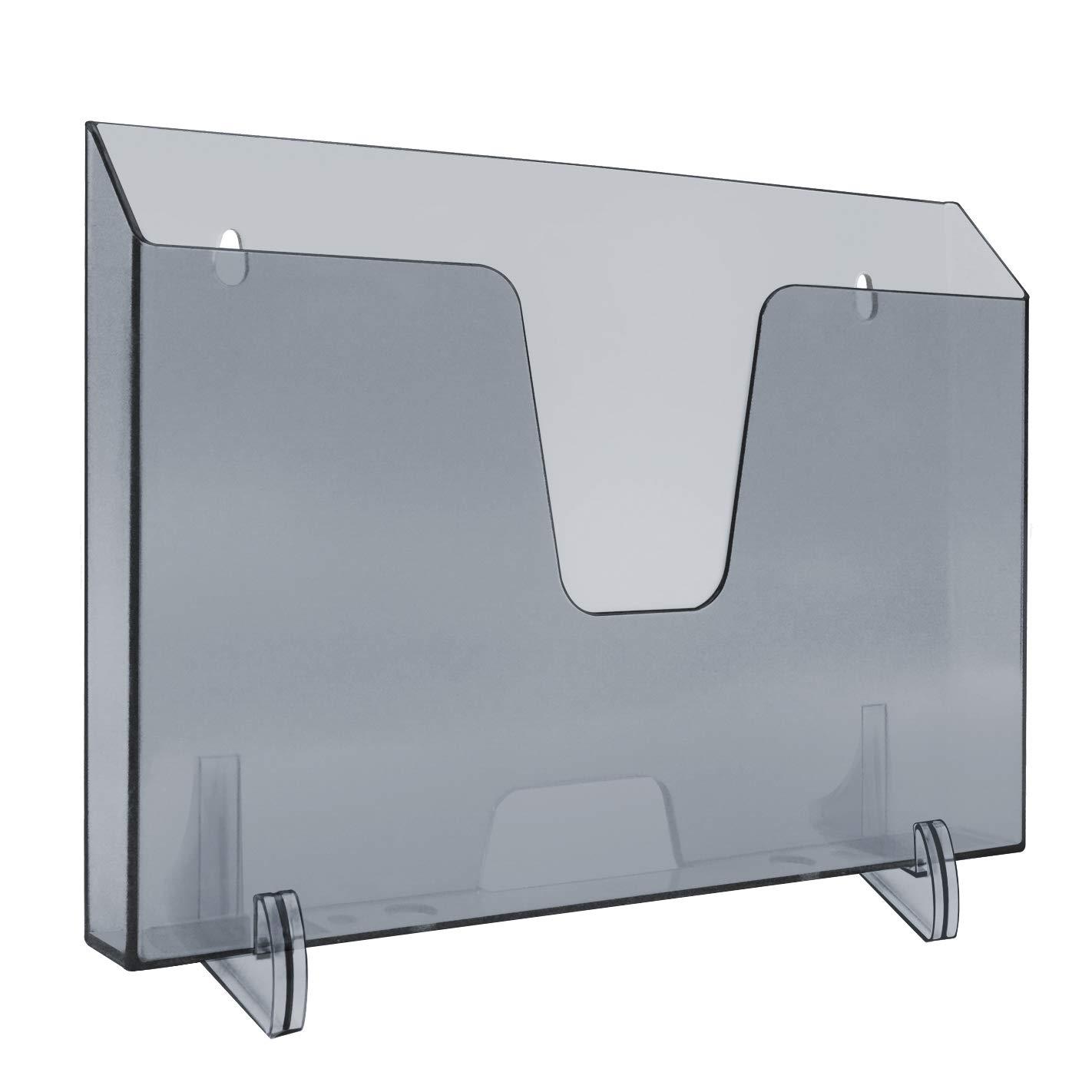 Acrimet Pocket File Horizontal Display (mit Schreibtisch Halterungen) (Smoke Farbe)