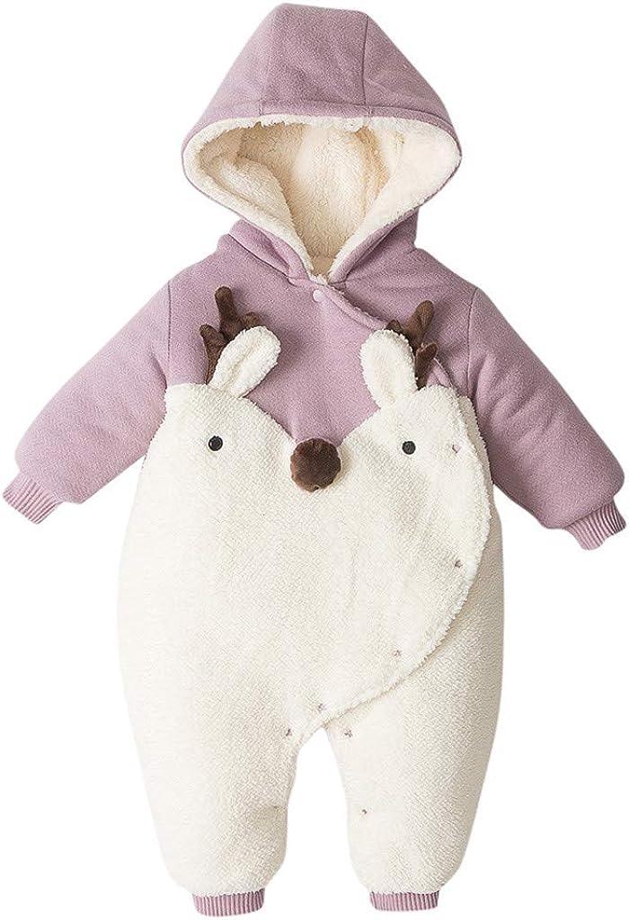 Toraway Chlidren Light Puffer Jacket Kids Boys Girl Winter Coats Jacket Zip Thick Ears Snow Hoodie Outwear 12M-4T