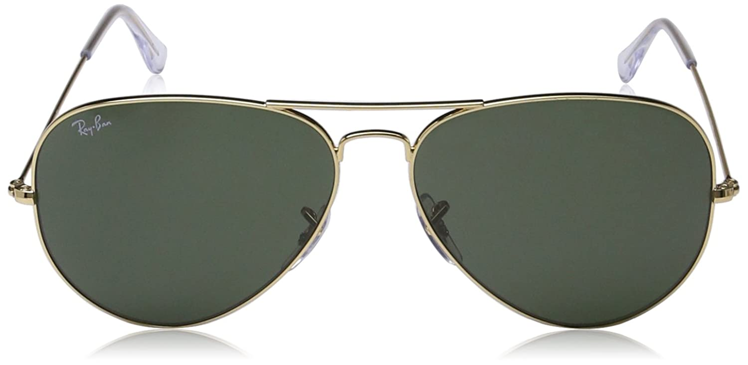 used ray ban aviator sunglasses for sale  amazon: ray ban large metal ii aviator sunglasses, arista, 62 mm: ray ban: clothing