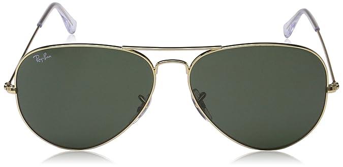 606362c53f Ray Ban Sunglasses RB 3026 Aviator Large Metal II L2846 Arista G-15XLT