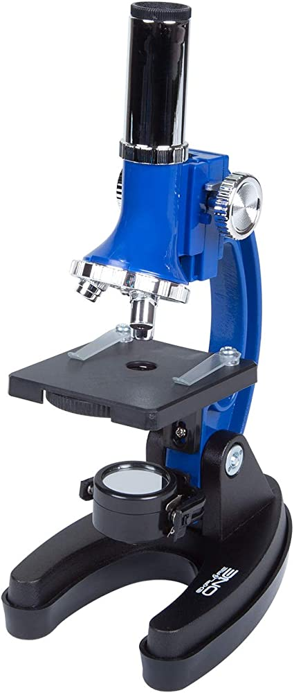 100X Perfect for at Home and School Comes with Hard-Shell Case 400X /& 900X Magnification Explore ONE Beginner Microscope for Kids Compact Size /& Sturdy Build
