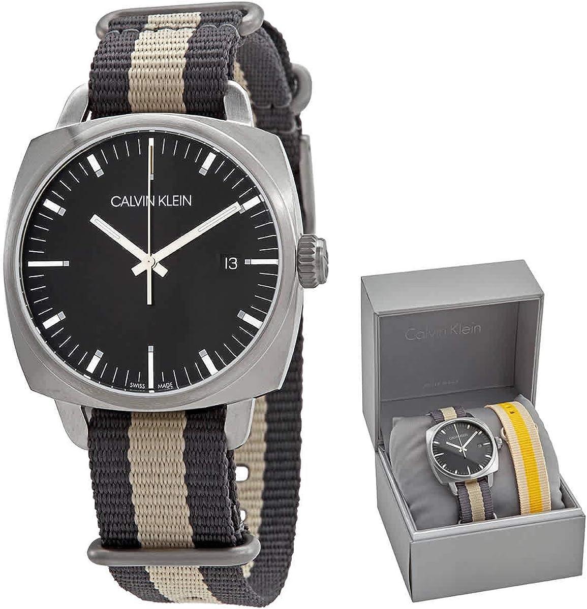 Calvin Klein Reloj de Vestir K9N111P1